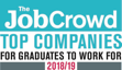 The Job Crowd - Top Companies for Graduates to Work For 2018/19